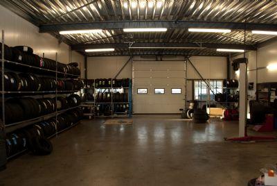 Garage, banden