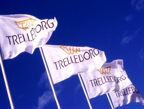 trelleborg, vlaggen