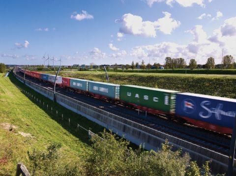 Goederenvervoer, spoor, bandentransport