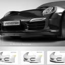 Air Master by Vredestein, spoiler, Porsche 911 Turbo, Apollo Tyres
