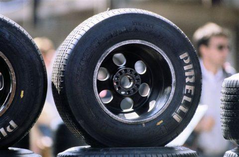 pirelli banden, formule 1