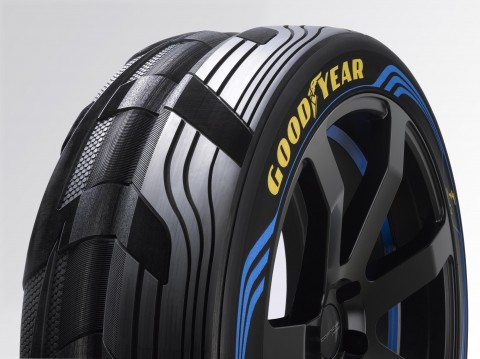Goodyear, SUV, Concept band, brede centrale groef, brandstofbesparend, rolweerstand, autoband, band