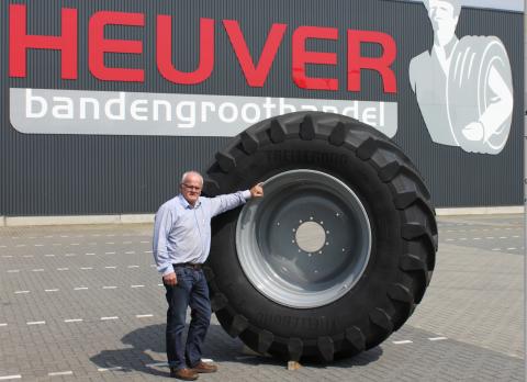 Bertus Heuver, Trelleborg, landbouwband, 's werelds grootste, Profile Tyrecenter